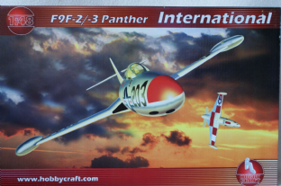 Hobbycraft 1/48 1456 Grumman F9F-2/3 Panther 'International'